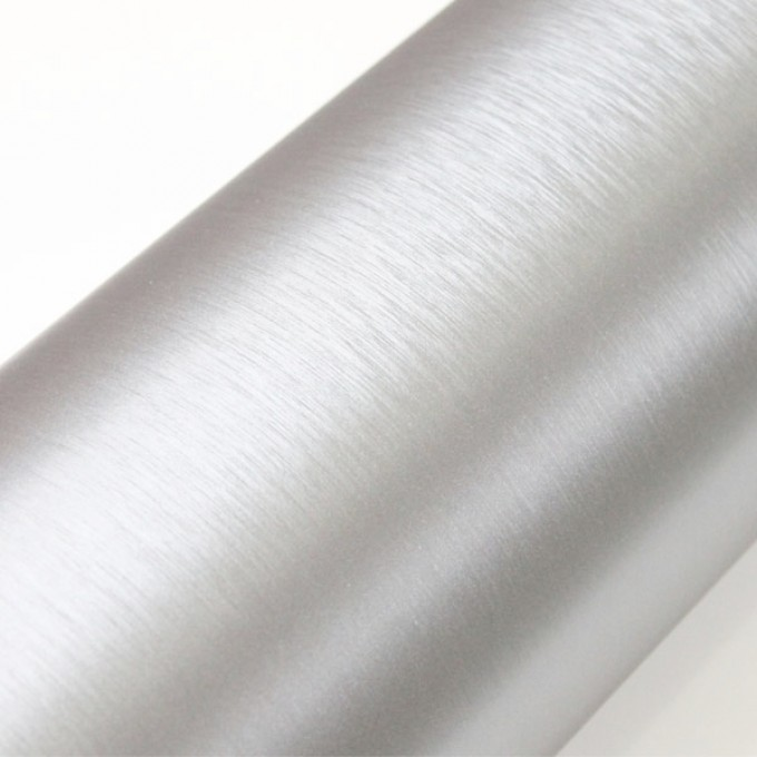 Fólie ozdobná brush chrom 50x60 cm