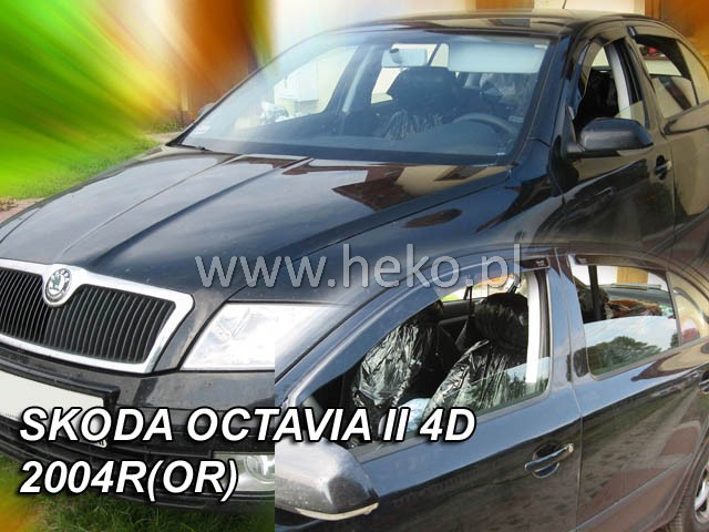 Ofuky oken - Škoda Octávia 5D r.v. 2004-2013 ltb, přední