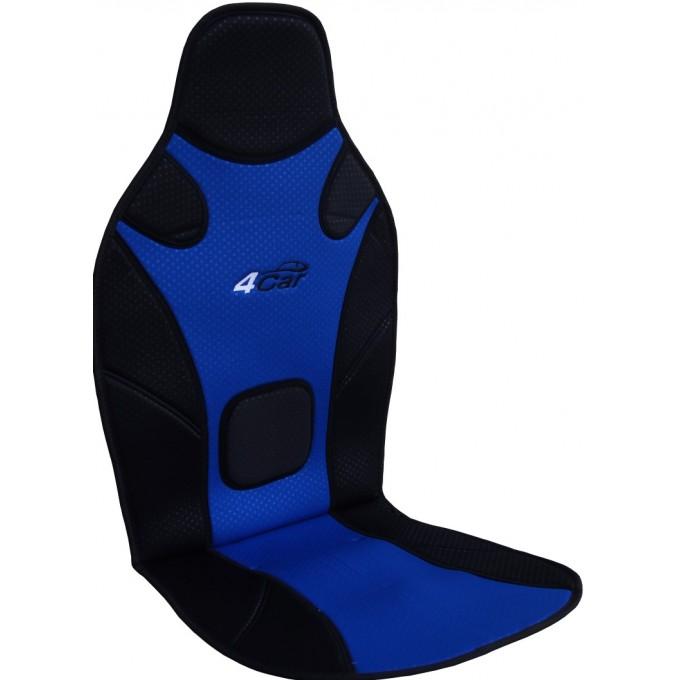 Podložka na sedadlo 4car, modro/černá
