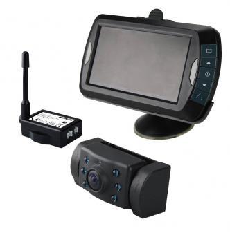 """Bezdrátové digitální LCD 4,3"""" + couvací kamera s nočním viděním"""