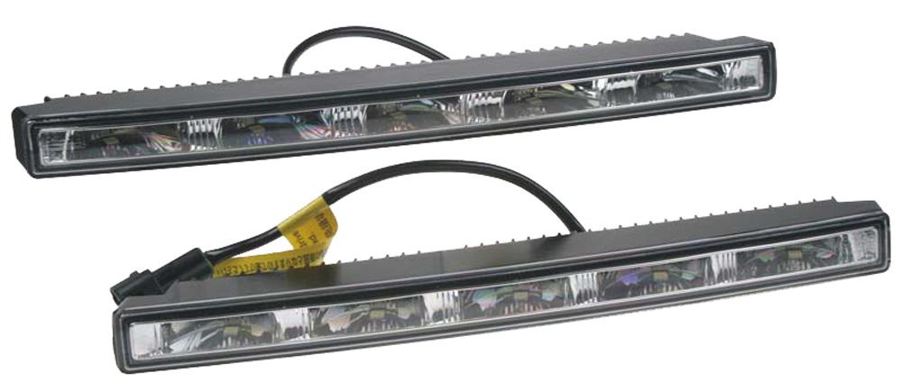 LED světla pro denní svícení, 280x24mm, ECE