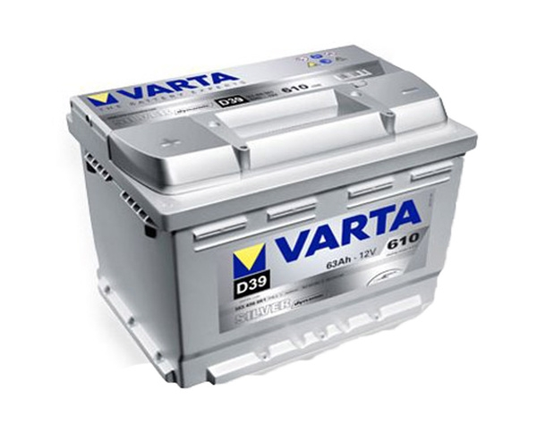 Autobaterie VARTA SILVER dynamic 63Ah L+ 12V 610A