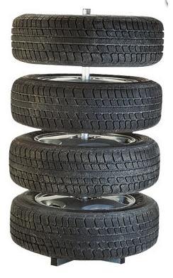 Stojan na pneumatiky