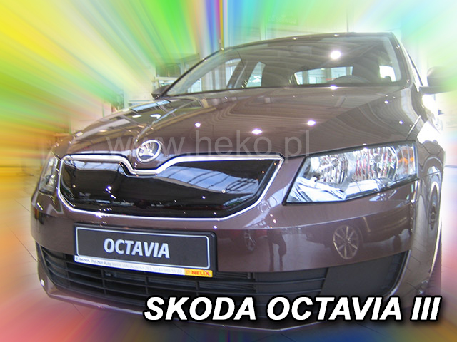 Zimní clona ŠKODA Octávia III r.v.2013 ->