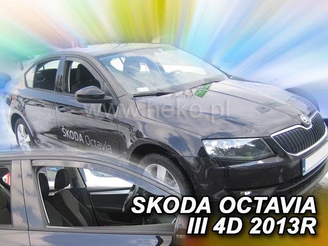 Ofuky oken - Škoda Octávia III 5D r.v. 2013-> ltb/combi, přední
