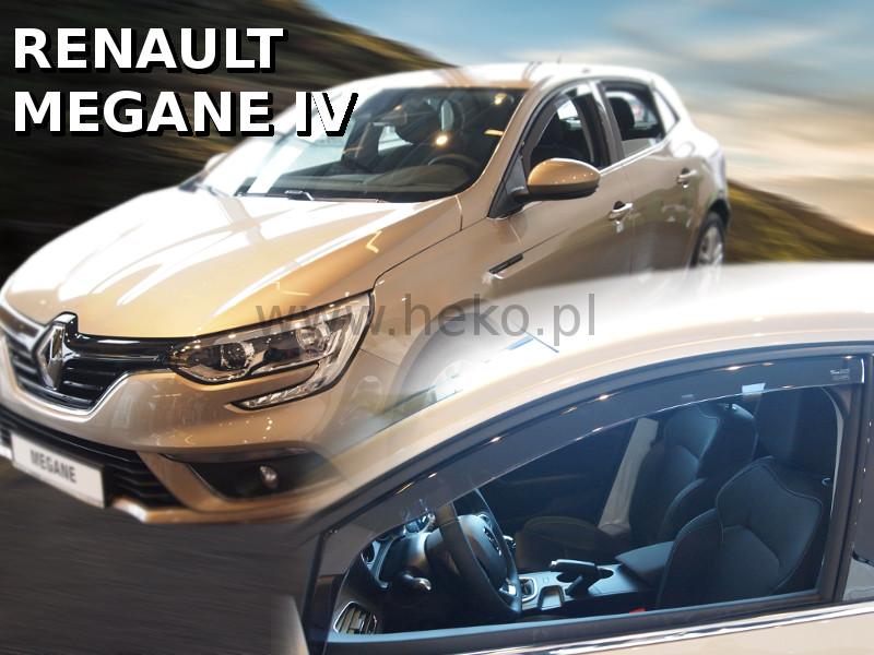 Ofuky oken - Renault Megane IV 5D 16R, přední