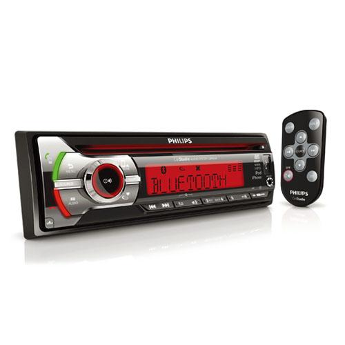 PHILIPS autorádio CD/USB/SD/Bluetooth/Multicolor, dálkové ovládání