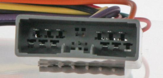 Konektor ISO Honda 2006-, Mitsubishi 2007-, Peugeot 4007, Citroen C-Crosser