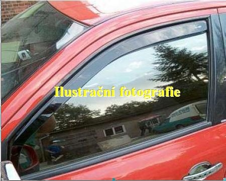Ofuky oken - Dacia Logan 4D 04R (+zadní)