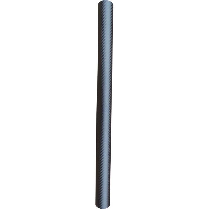 Fólie ozdobná 3D carbon tmavě stříbrný 100x152cm