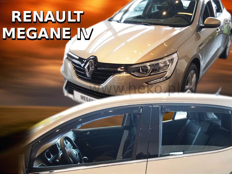 Ofuky oken - Renault Megane IV 5D 16R (+zadní) htb
