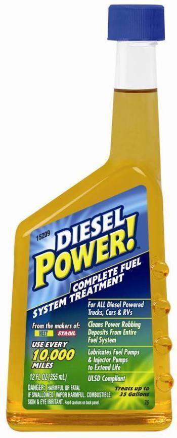 Kompletní ošetření palivové soustavy DIESEL na 132 litrů phm