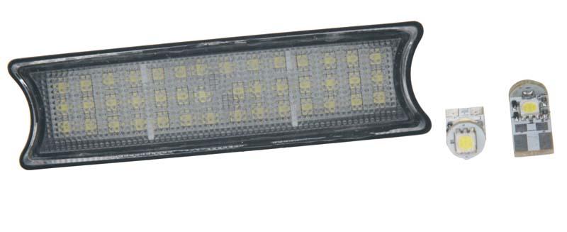LED osvětlení interiéru do vozu BMW E46