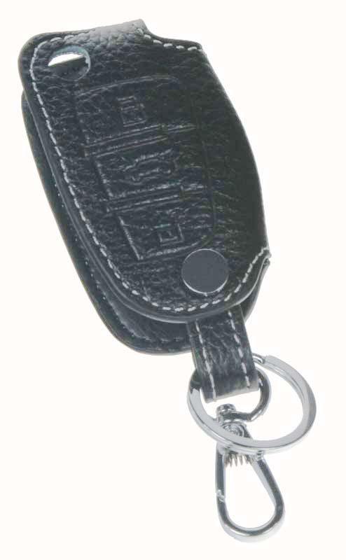 Kožený obal pro klíč Audi