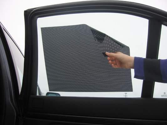 Protisluneční elektrostatická clona-folie 34x43 cm