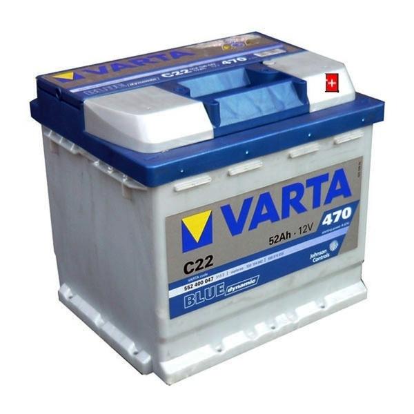 Autobaterie 52Ah VARTA BLUE dynamic