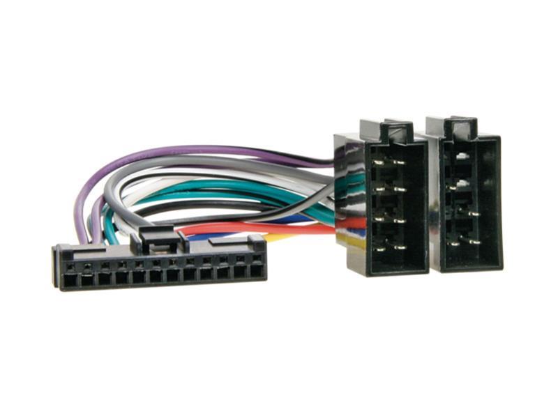 Kabel pro PIONEER 12-pin / ISO černý