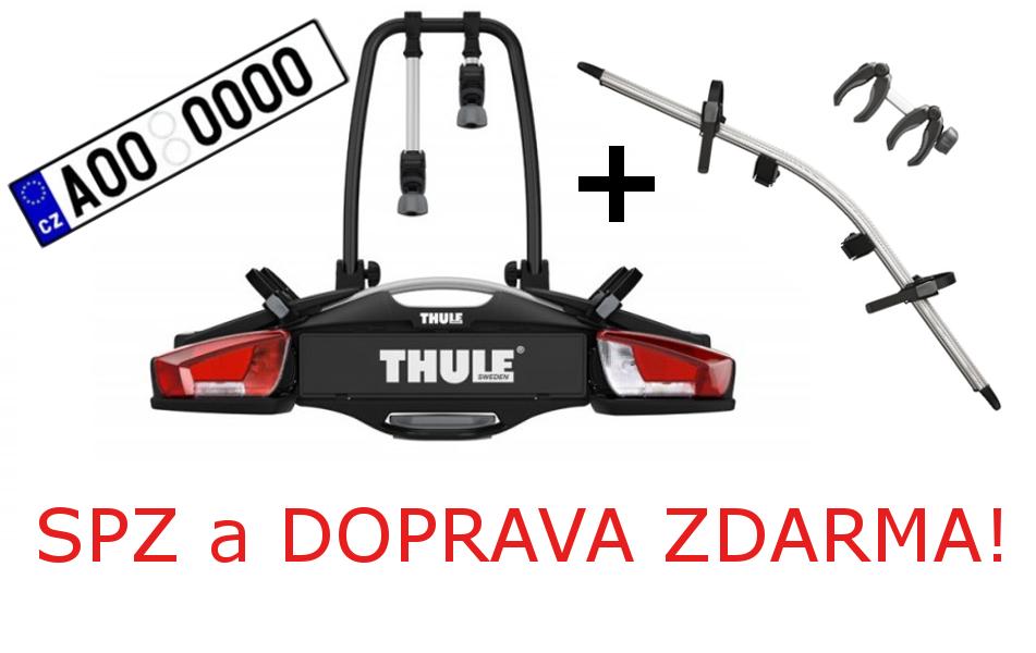 Nosič 4 kol Thule VeloCompact 926+adaptér SPZ a DOPRAVA ZDARMA