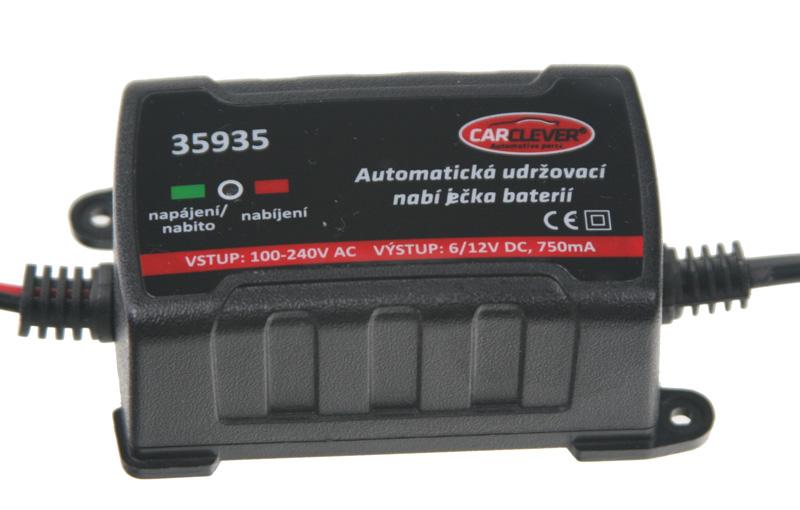 Automatická udržovací nabíječka 6/12V - 750mA