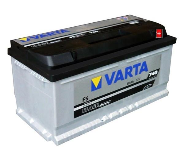Autobaterie VARTA BLACK dynamic 88Ah 12V 740A 588403