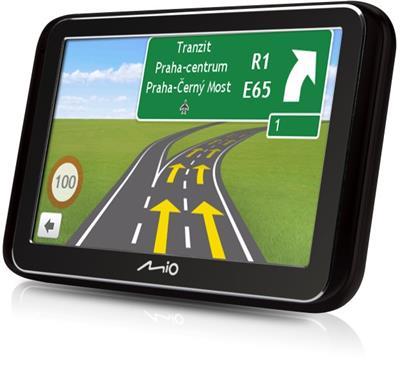 "MIO Spirit 6970u Truck GPS navigace, LCD 5"", mapy EU (44), Lifetime"