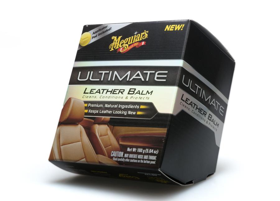 Meguiars Ultimate Leather Balm - luxusní balzám na kůži, 160 g