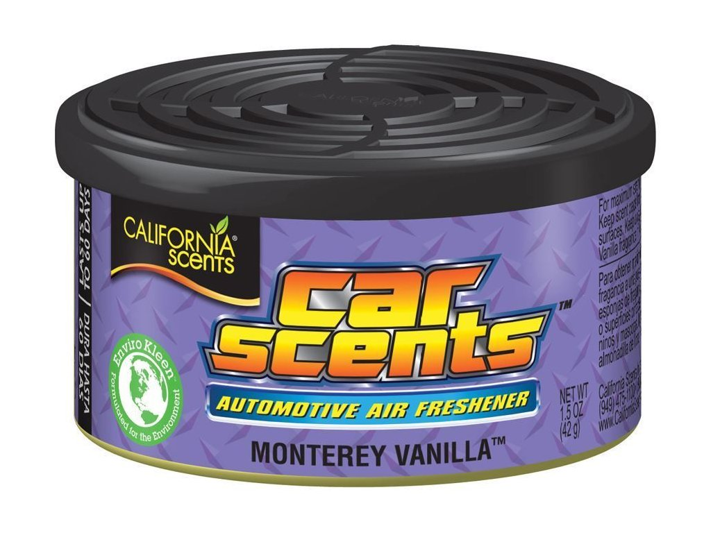 Osvěžovač vzduchu California Scents, vůně Car Scents - Vanilka
