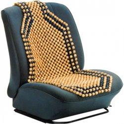 Potah sedadla dřevěné kuličky