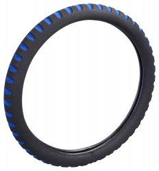 Potah na volant SOFT modrý ( 37-39 cm)