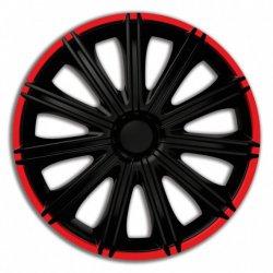 """Kryty kol NERO 15"""" - černé, 4 ks"""