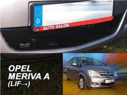 Zimní clona Opel Meriva A 5D r.v. 2006-2010