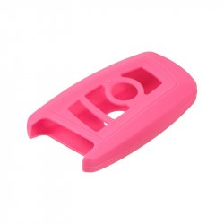 Silikonový obal pro klíč BMW 5, 7 3-tlačítkový, růžový