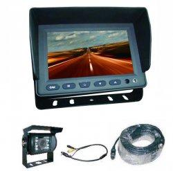 """Profi kamerový systém 5"""" pro kamiony 12/24V - 20m kabel"""
