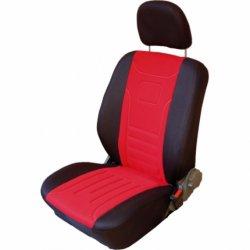 Autopotahy Classic Škoda Favorit s dělenou zadní sedačkou, červené
