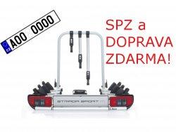Nosič 3 kol Atera STRADA M 3 Sport na tažné zařízení DOPRAVA a SPZ ZDARMA