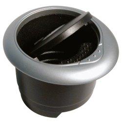 Popelník černo/šedý