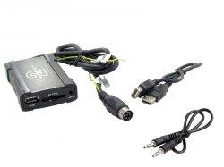 Adaptér pro ovládání USB zařízení OEM rádiem Volvo HUxxx/AUX vstup