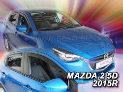 Ofuky oken - Mazda 2 5D 14R (+zadní)
