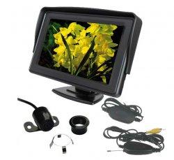 Bezdrátová parkovací kamera s LCD 4,3 displejem