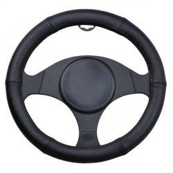 Potah na volant 100% kůže black 37-39cm