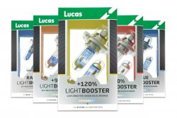 Autožárovky Lucas s vyšší svítivostí