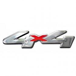 Samolepící dekory - 4x4, aluminium