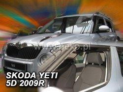 Ofuky oken - Škoda Yeti 5D r.v. 2009->, přední