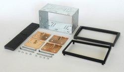 2DIN redukce pro Opel Signum 05-/ Vectra C antracit
