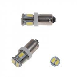 LED BA9s bílá, 12V, 6LED/3SMD