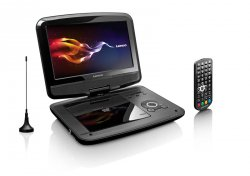 DVD přenosný přehrávač s DVB-T Lenco DVP-9412