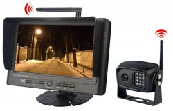 """SET bezdrátový digitální kamerový systém s monitorem 7"""""""
