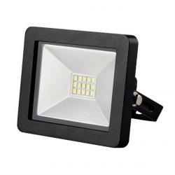 LED venkovní reflektor SLIM, 10W, 700lm, 3000K, černý WM-10W-G
