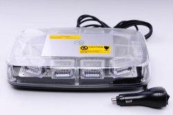 LED světelná rampa modrámagnet, 30x 3W LED, ECE R65
