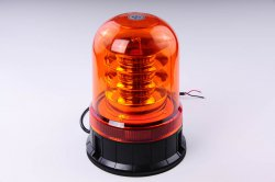 LED maják 12-24V, 18x3W oranžový pevný, ECE R65